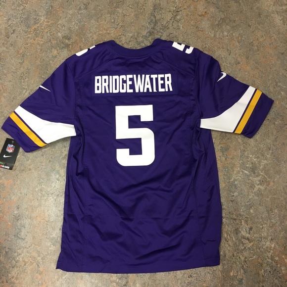 #5 Teddy Bridgewater Nike Minnesota Vikings Jersey